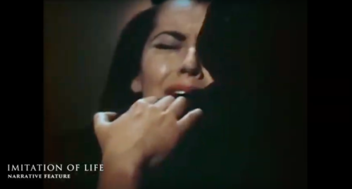 Still from DBFF film trailer and the movie, Imitation of Life (1959).