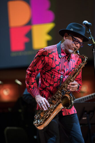 Kirk Whalum performs at DBFF 2019.